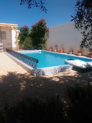 Maison avec piscine idéale pour vacances familiale