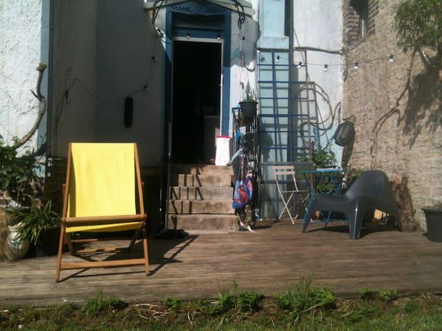 Du vert en ville : maison à St-André-les-Vergers