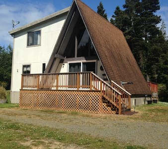 Mod. A-Frame in the woods - Bandon