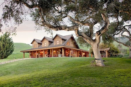 Gorgeous Log Home on Working Ranch + Farm