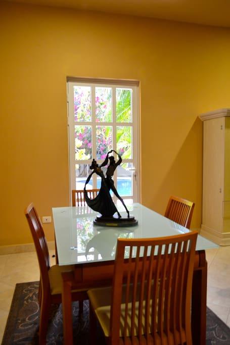 Casa Tuluminus BnB Marlin Suite art