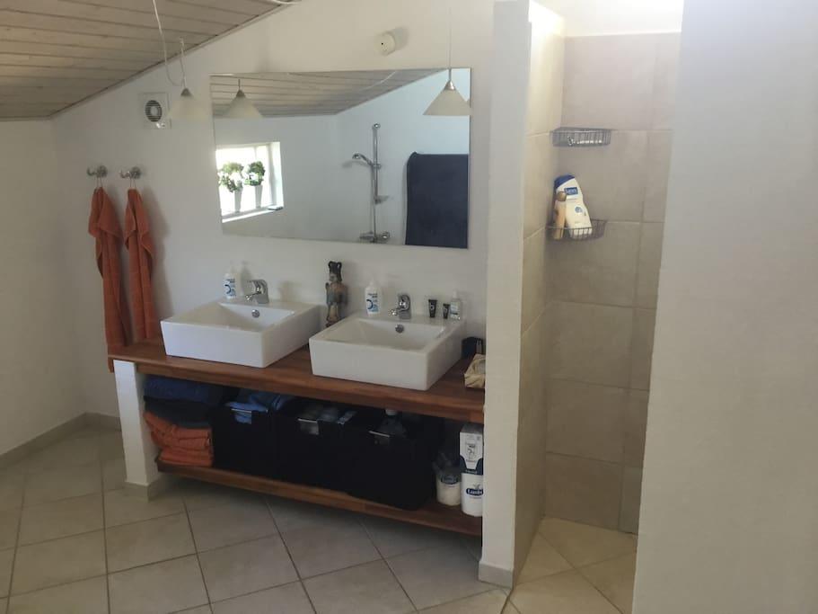 Badeværelse.