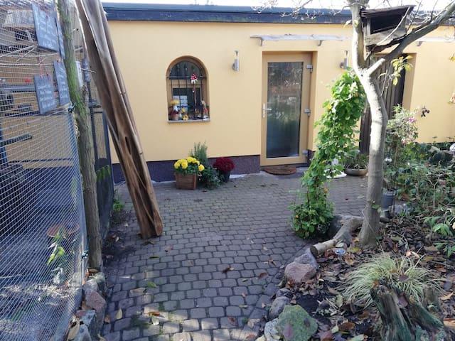 Wohlfühloase mit besonderem Charme im Eulengarten