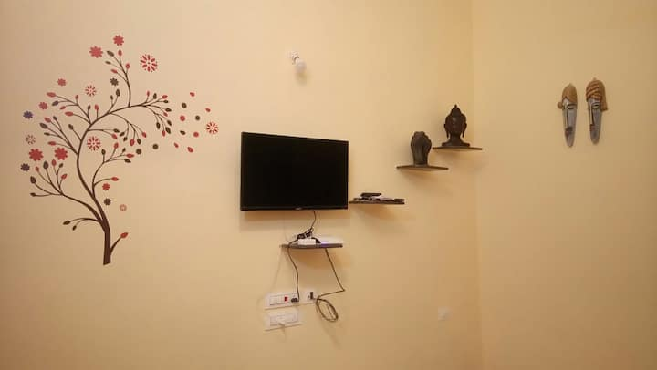 Furnished A/C studio apt near Calangute & Baga Goa