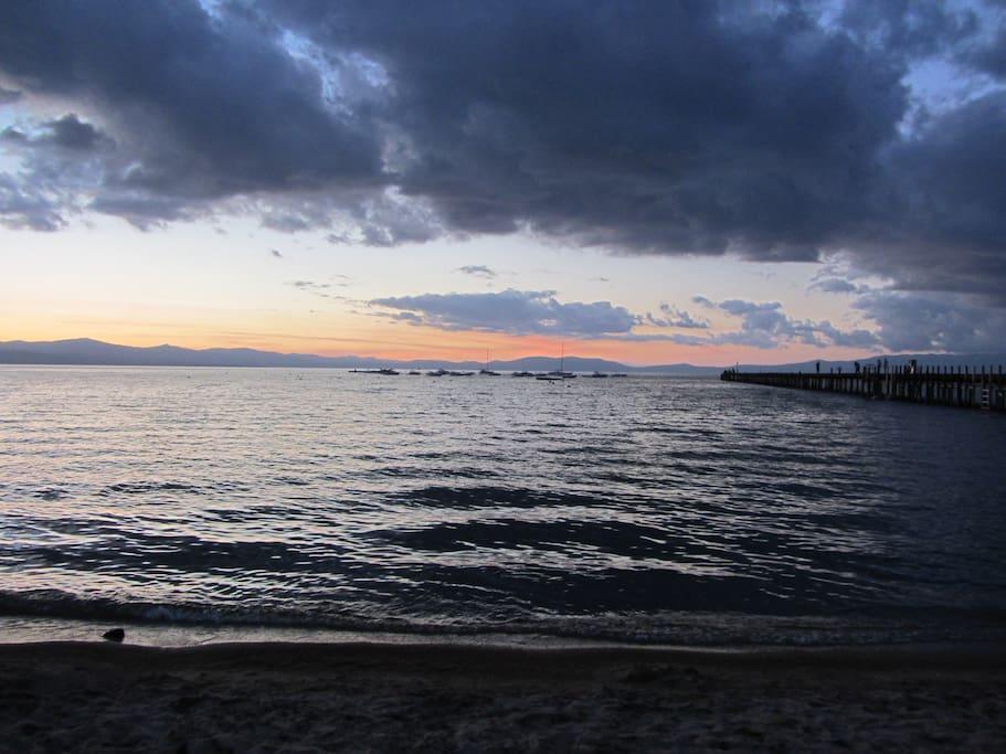 Timber Cove Sunset