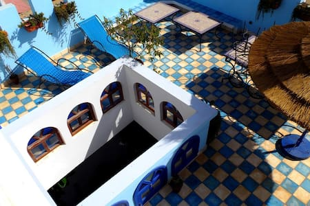 Riad dar Lamane with rooftop terrace and sea view - Essaouira