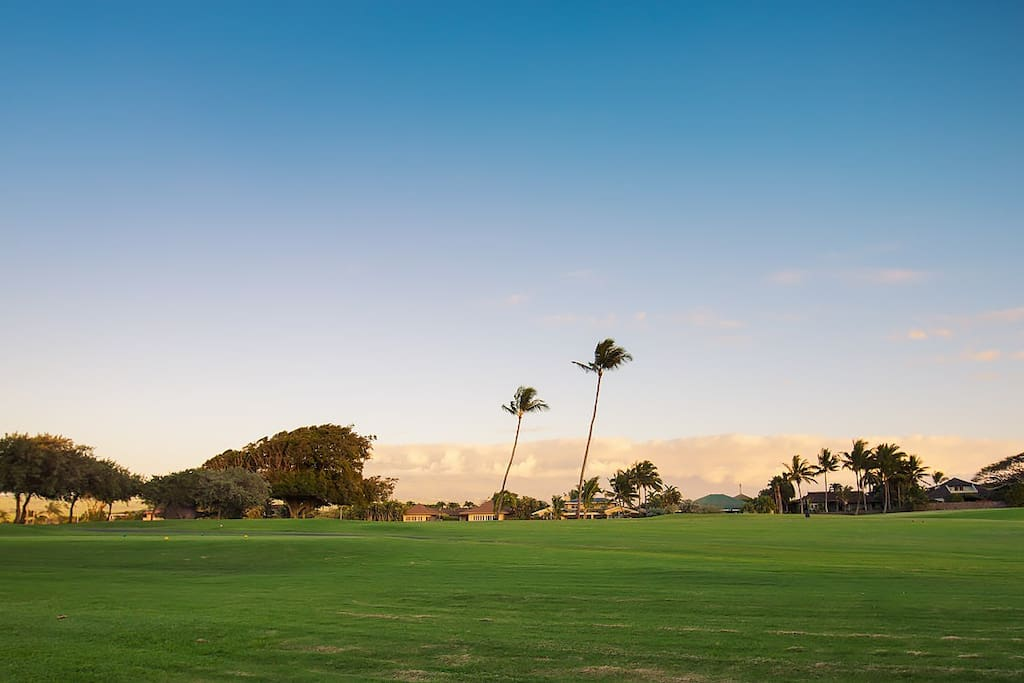 Maui Plantation Beach Home - Golf Course View
