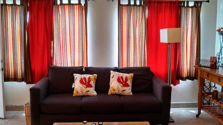 Rental in a warm Mexican Town  2 bed / one bath