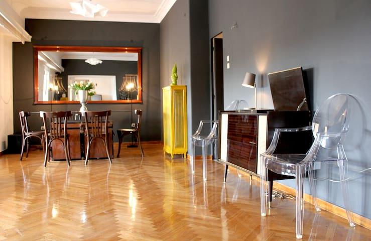 Vintage Design Flat downtown!  - Athens - Apartment