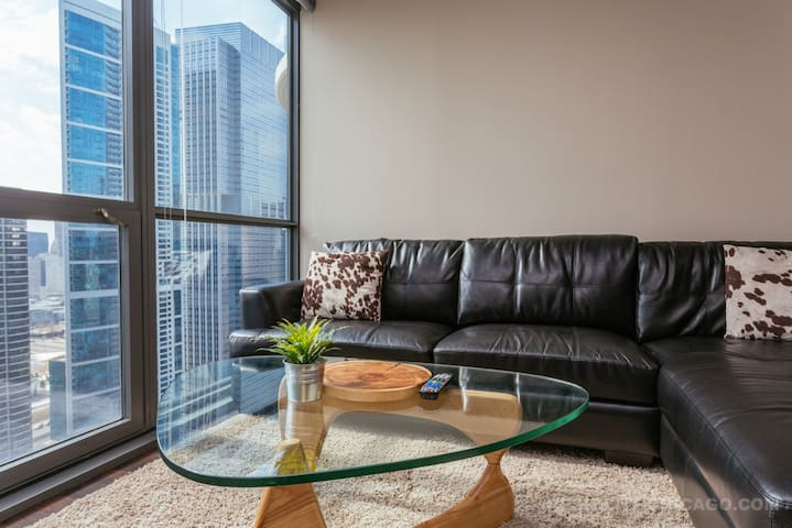 NEW - CLEAN - CORPORATE HOSUING LUX - Chicago - Apartment
