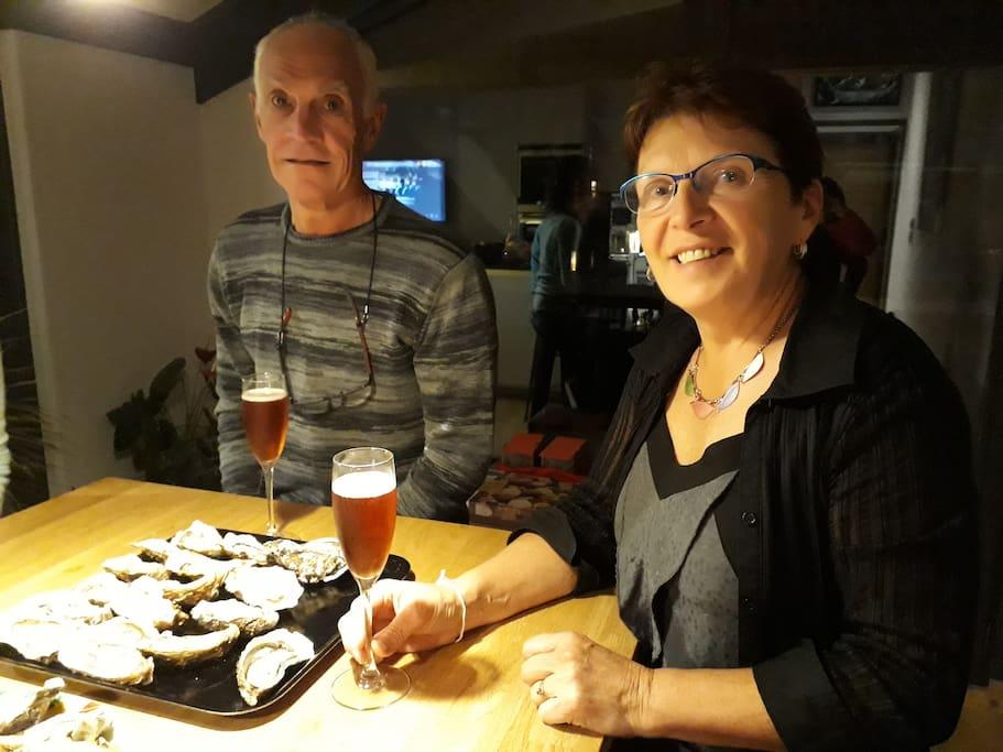 Bienvenue a la Lezardiere! Solange et Jean-Paul