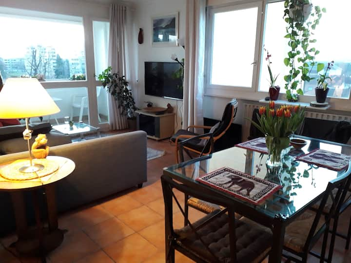 Furnished room in a large appartment in Ferney