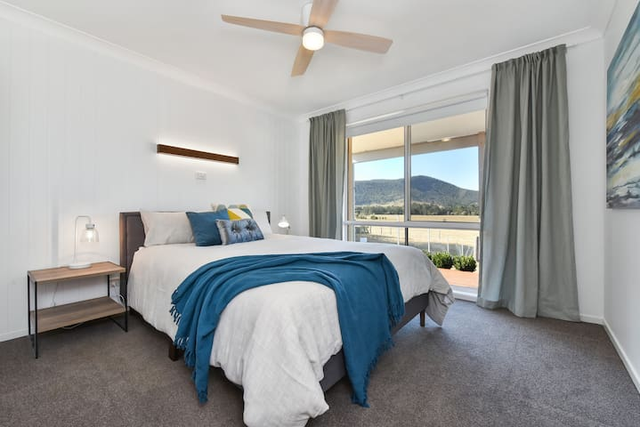 Master bedroom with fantastic views and ensuite