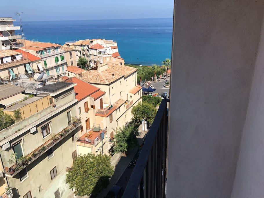 Vista mare balcone