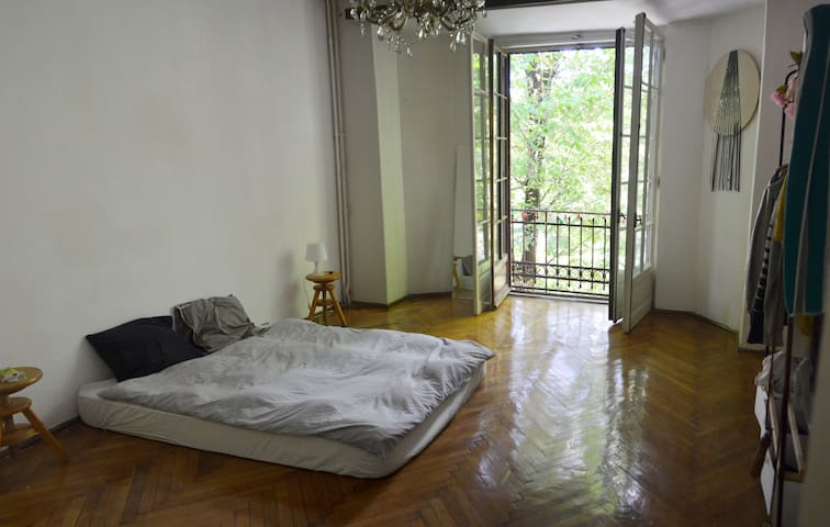Spacious room in Bucharest's center - Boekarest - Appartement
