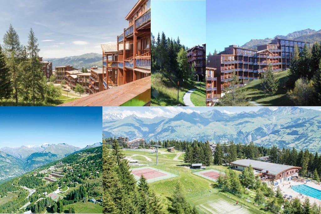 Arcs 1800 duplex expo lein sud appartamenti in for 1800 piani di casa sf