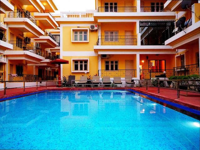 2BHK apartment in Baga   302, Casa Stay By Usv