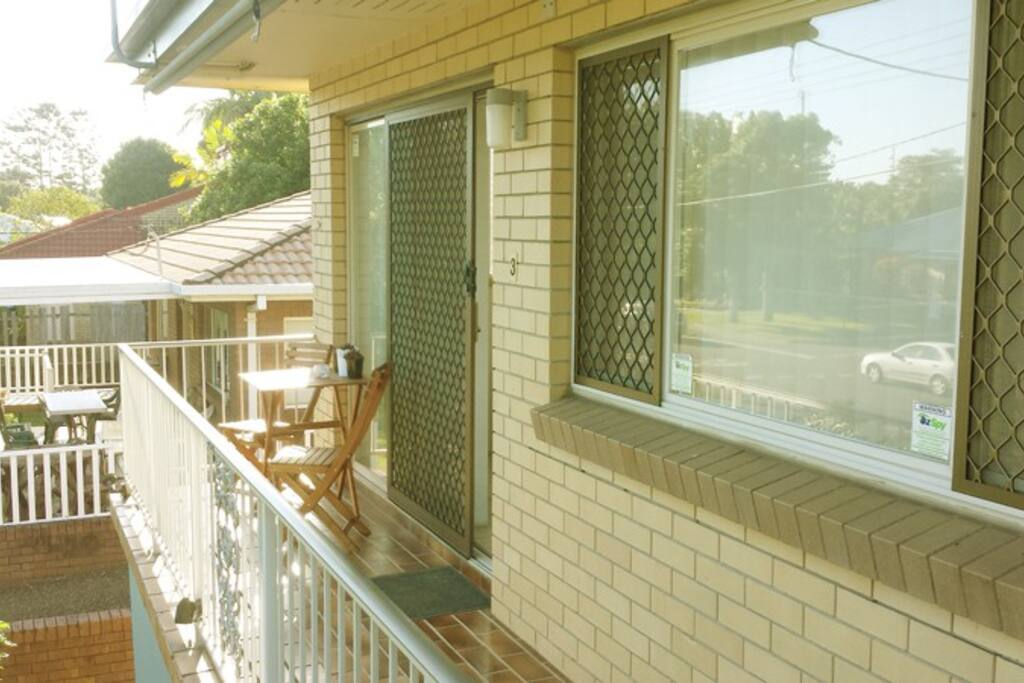 Sunny Balcony