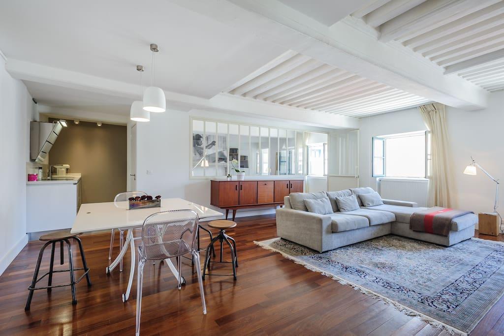 appart cosi dans h tel particulier appartements louer lyon rh ne alpes france. Black Bedroom Furniture Sets. Home Design Ideas