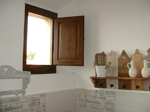 Two-room apartment of Elena's rooms in Riotorto