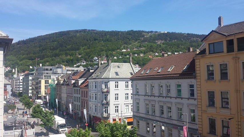 city view in the heart of Bergen - Bergen - Daire
