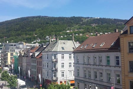 city view in the heart of Bergen - Μπέργκεν