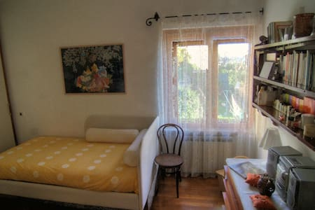 Single-double room in villa on Ligurian sea, Goa. - Pieve Ligure