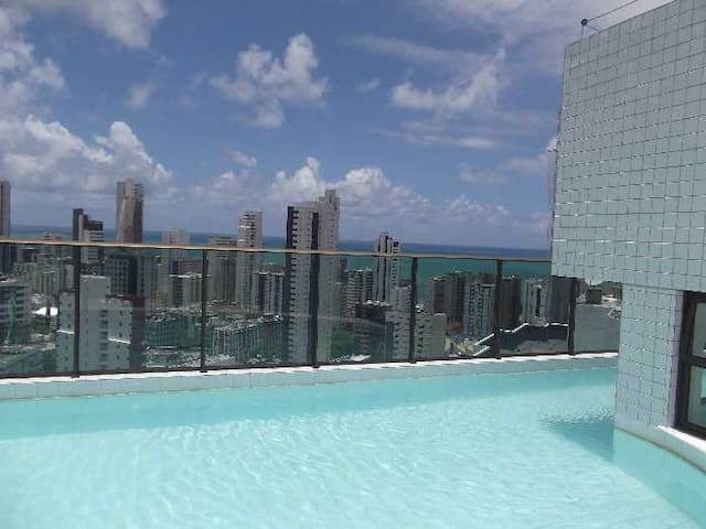 Excelent Apartment on the beach - Recife - Appartement