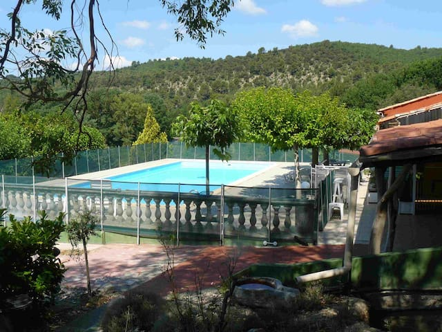Studio-gite piscine Provence Verdon - Allemagne-en-Provence - Leilighet
