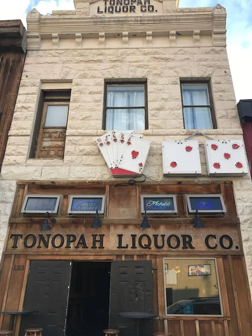 The Tonopah Liquor Company building was built in 1906 and today the bar bears it's original namesake, Tonopah Liquor Company.  Local reference to the bar is TLC.