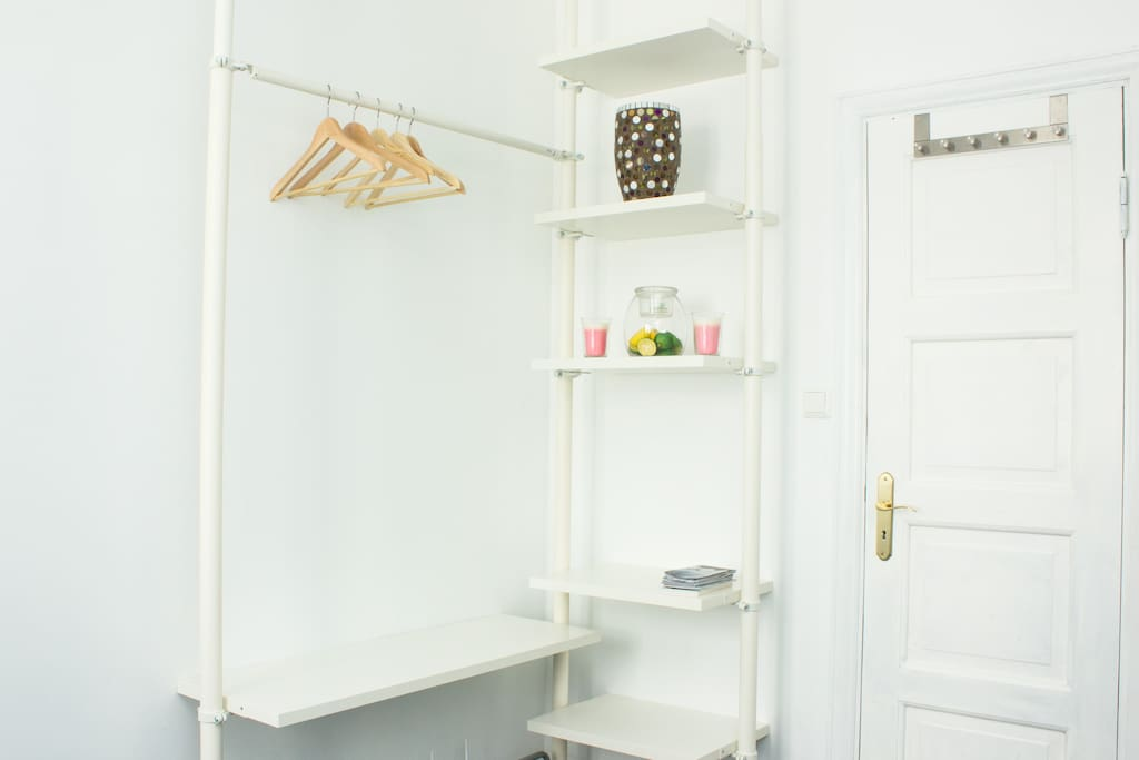 A smart open wardrobe solution