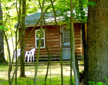 Quiet Cabin in the Woods (K2) - Township of Branch - Zomerhuis/Cottage