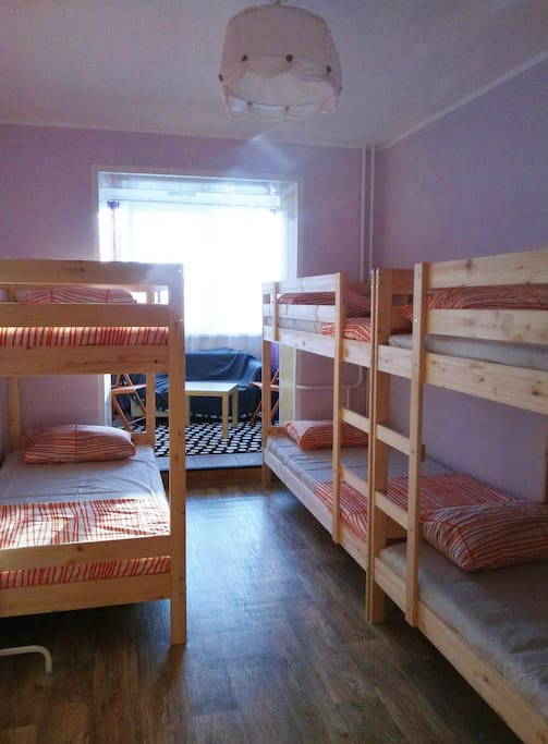 Уютная 6-ти местная комната