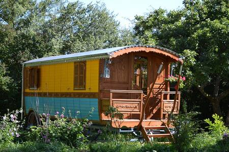Gyspy Caravan with sauna & wellness - Batilly-en-Puisaye - Outro
