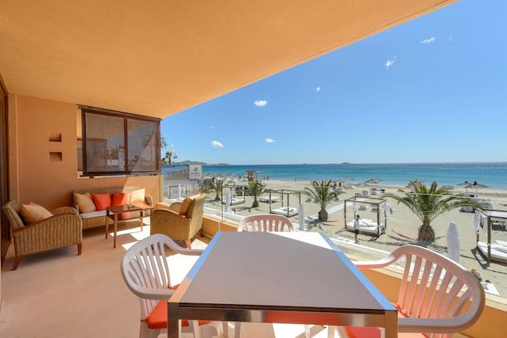 Real SEA VIEW Apartment, Bossa flat on the beach - Ibiza - Apartment