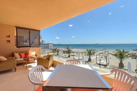 Real SEA VIEW Apartment, Bossa flat on the beach - Sant Josep de sa Talaia - Apartament