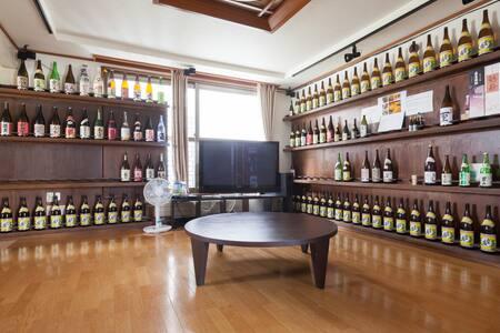 wagaya~ちゃま~1F=焼酎&日本酒Bar 2F=(ドミトリー&wi-fi)Bベッド - Hus