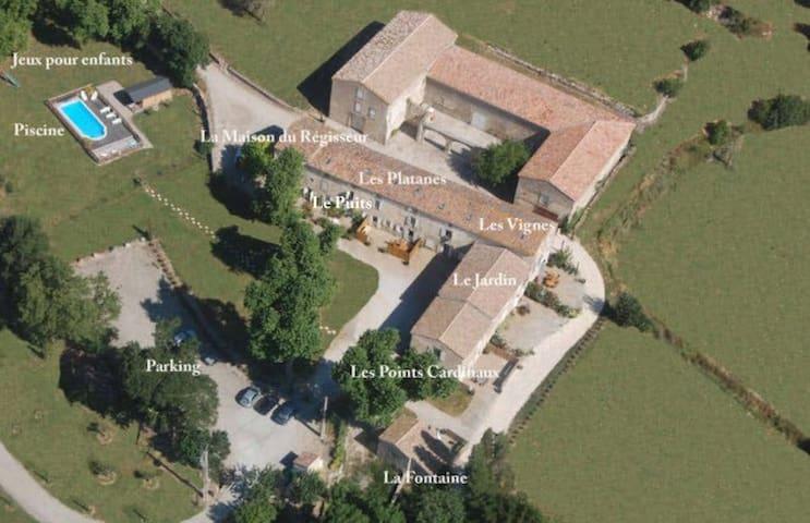 "Gite ""Les Platanes"" - Aragon - Apartment"