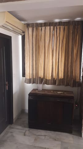 Private Spacious Bedrooms w Lobby - J Block Saket