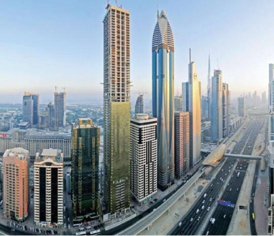sharing room of heart of Dubai.UAE_DIFC