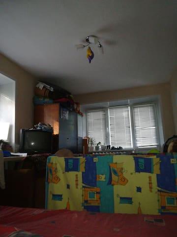 Спальное место в квартире с хозяевами