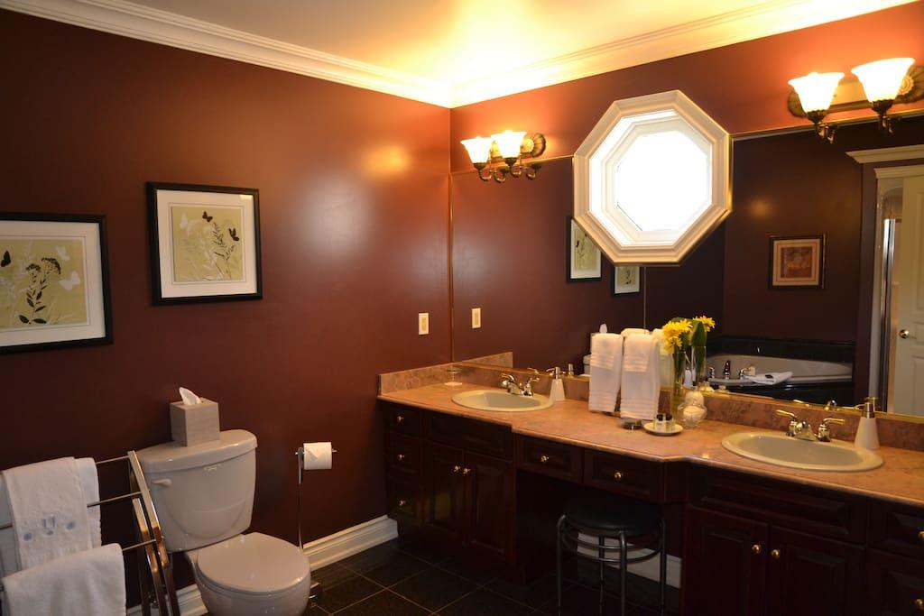 Bordeaux bathroom