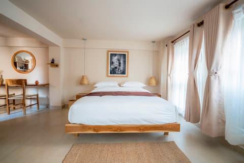 """Artelier Homes """"Maison Noir et Blanc 3"""" 300 sq. ft"""