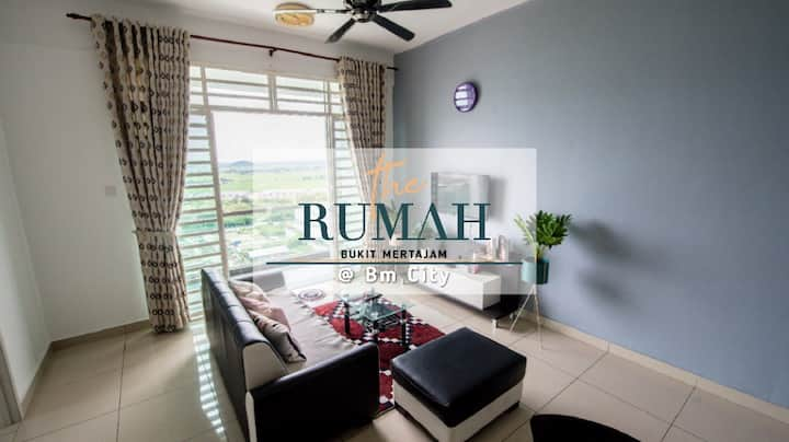 The Rumah @ BM CITY ---2 bedroom (Purple Angels)