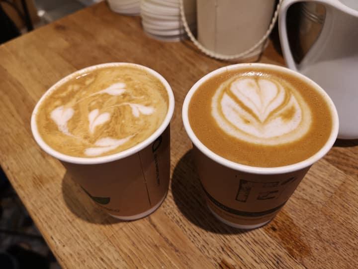 Irish coffee in Irish cafes!