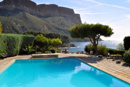 Appartement design avec piscine & accès direct mer - 卡西斯 - 公寓