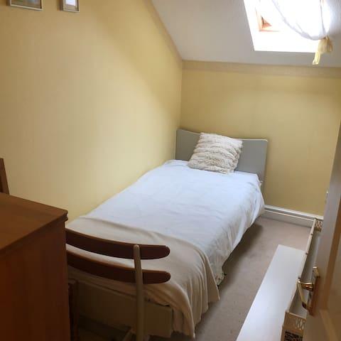 Single bedroom 3rd floor.