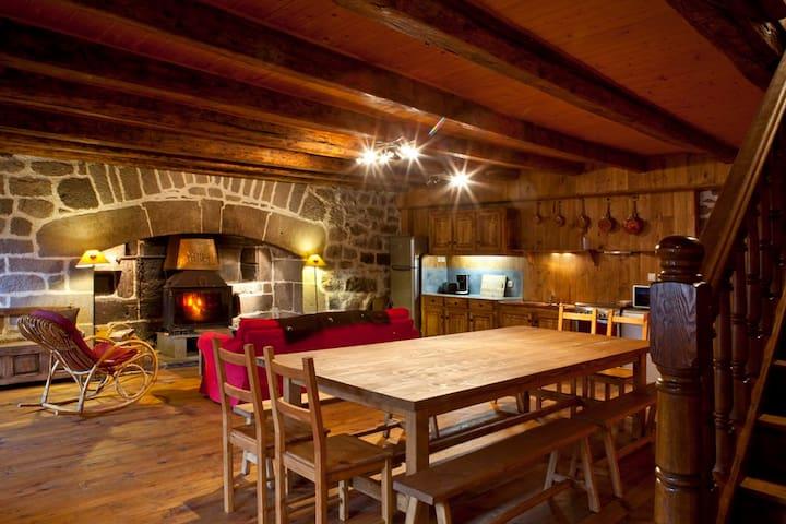 La Maison d'Alfred - Lavigerie - Přírodní / eko chata