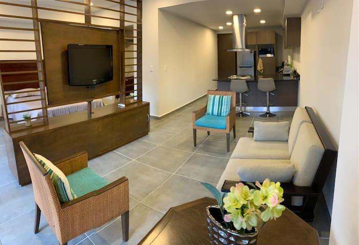NARAN Loft Terraza privada -+3 Cama Queen + Sofá