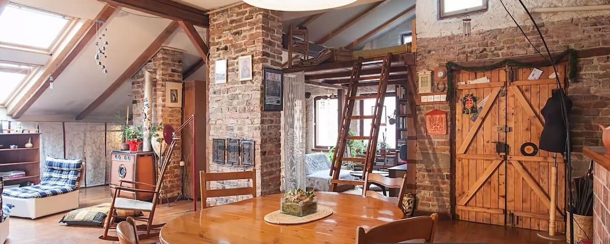 Sunny, Cozy & Charming Loft